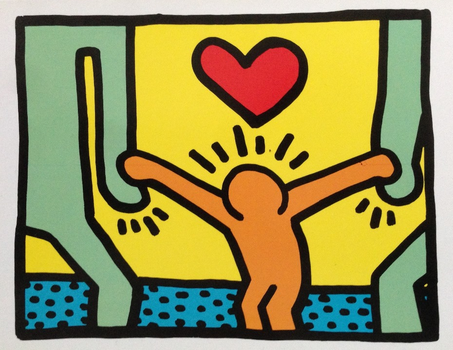 Keith Haring family
